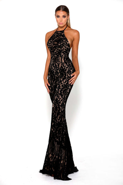 ELLE GOWN BLACK