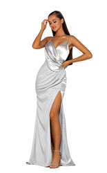 PS5006 SILVER DRESS