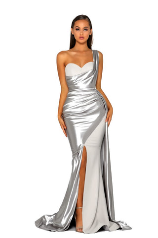 PS5021 GOWN SILVER