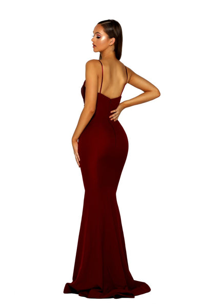 PS5024 GOWN RED