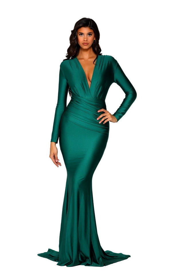 PS5030 GOWN EMERALD