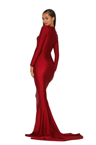 PS5030 GOWN RED