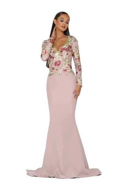 PS5047 GOWN  BLUSH