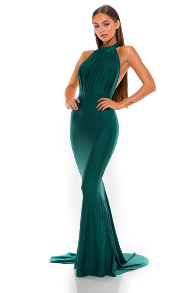 PS6179 EMERALD DRESS