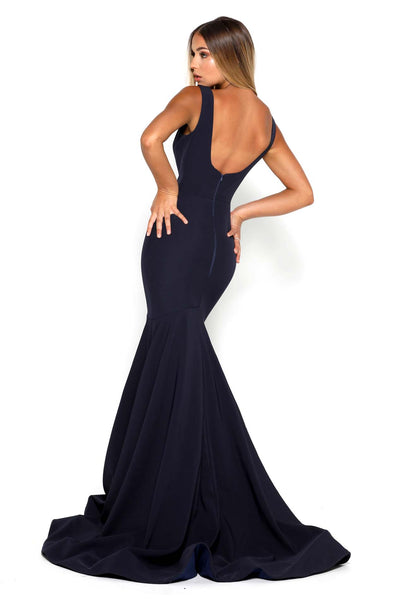 MARGAERY GOWN NAVY