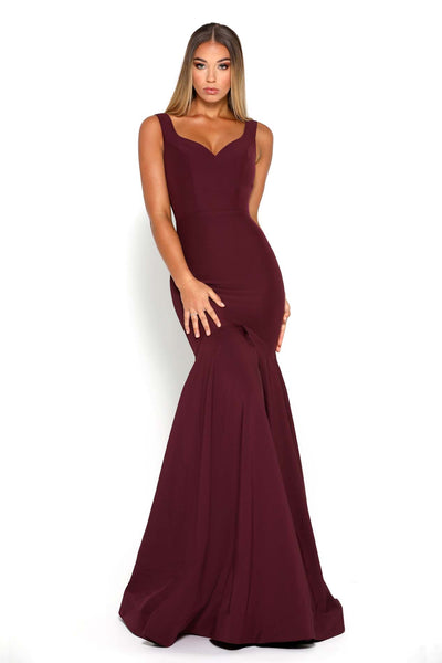 MARGAERY GOWN PLUM