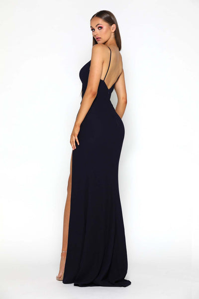 ROSABELL GOWN BLACK