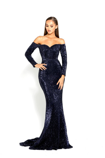 PS2036 NAVY DRESS