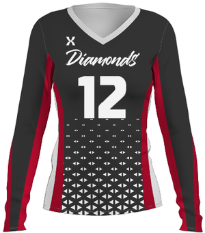 Diamonds Volleyball Jersey