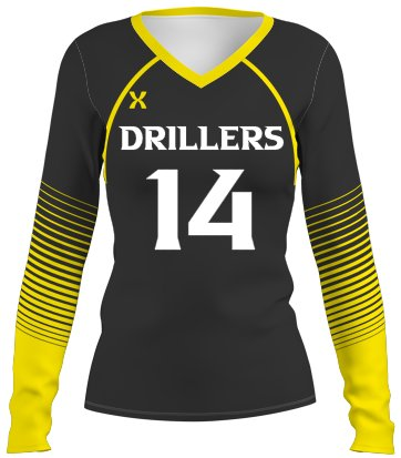 Drill Volleyball Jersey