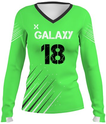 Galaxy Volleyball Jersey