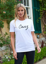 Women's Signature White Tee