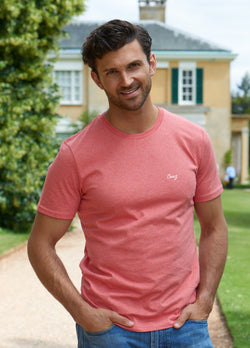 Classic Heather Red Tee