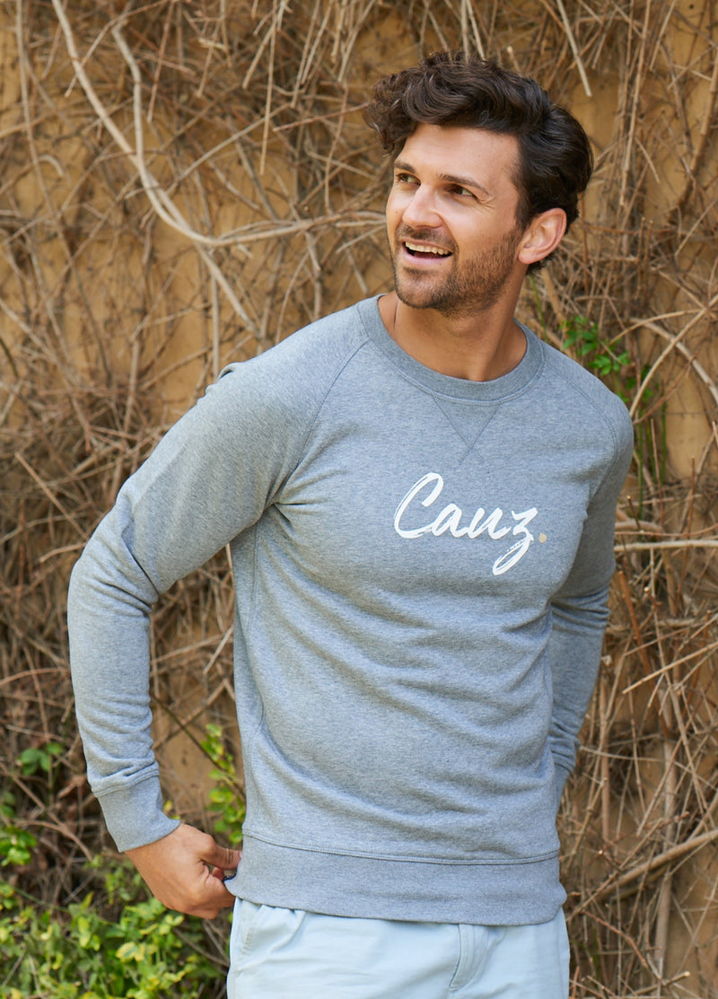 Men's Supersoft Grey Sweatshirt
