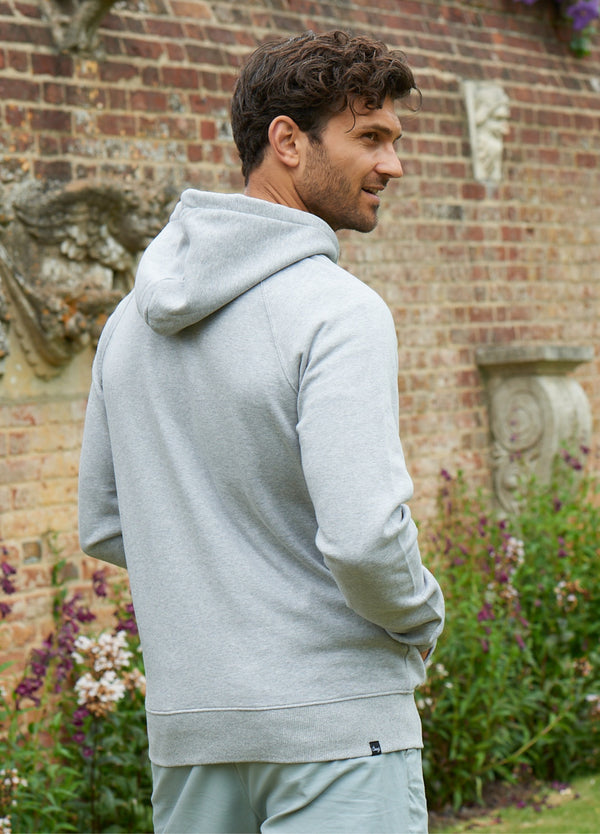 Men's Heather Grey Hoodie
