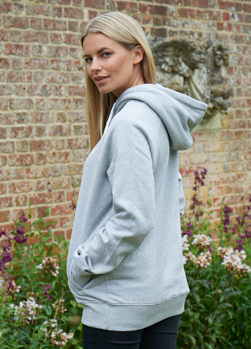 Women's Heather Grey Hoodie