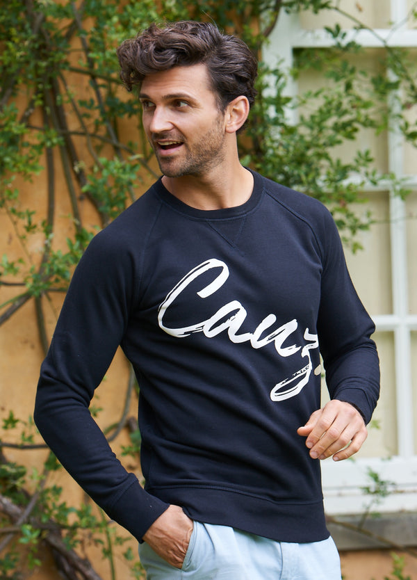 Men's Supersoft Black Sweatshirt