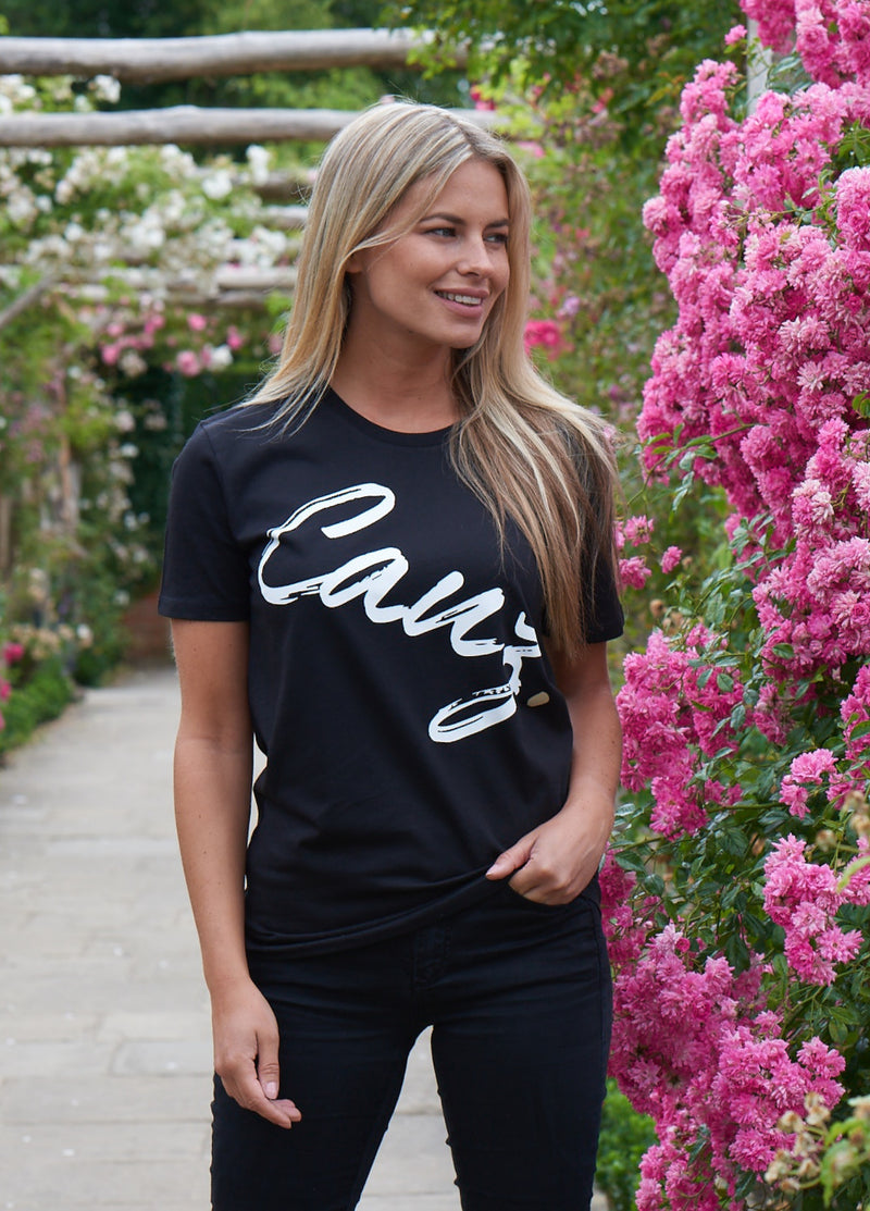 Women's Iconic Black tee