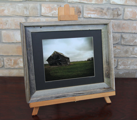The Leaning Barn--Framed