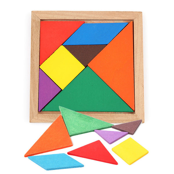 Children's IQ Brain Tangram Educational Puzzle Toys