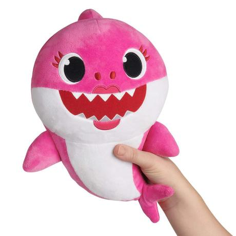Cute Singing Cartoon Baby Shark Plush Toy Doll