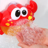 Bubble Frog Crab Shower Machine for Kids