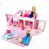 Children's Hello Kitty & Princess Castle Villa House Toys