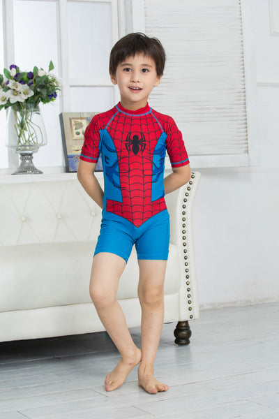 Boy Spider Man One piece Swimsuit