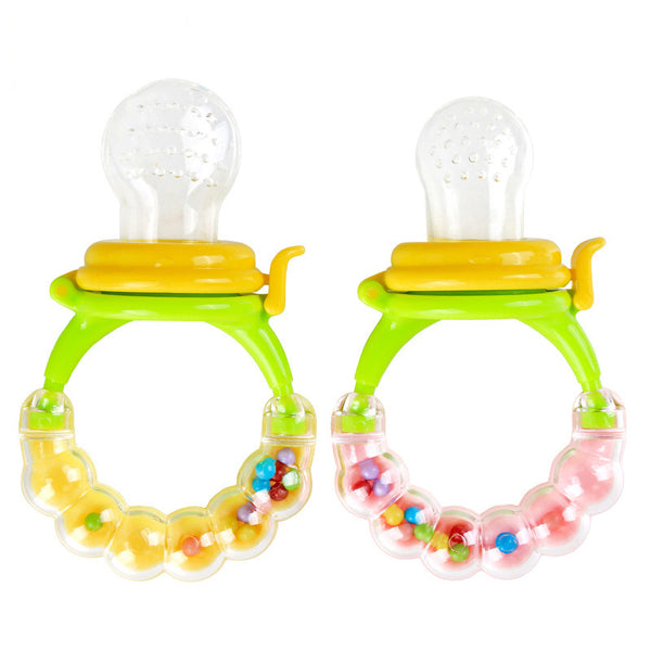 Ring Style Food Nibbler Cum Pacifier