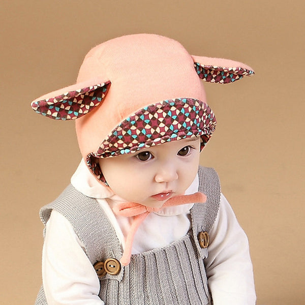 Children's Bunny Shape Earmuffs Hat