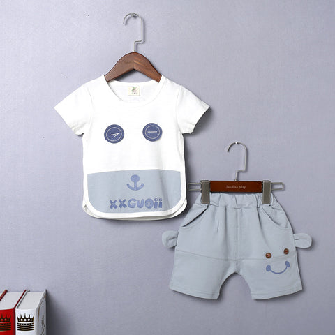 Summer Short Sleeved Set for Boy
