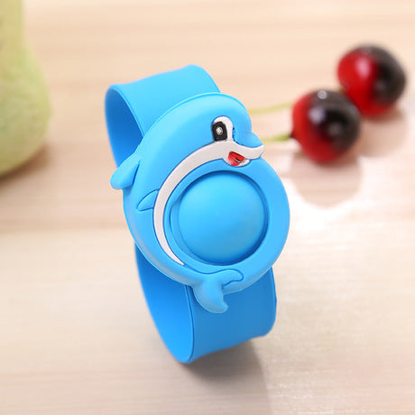 Silicone Cartoon Mosquito Repellent Bracelet for Baby & Kids