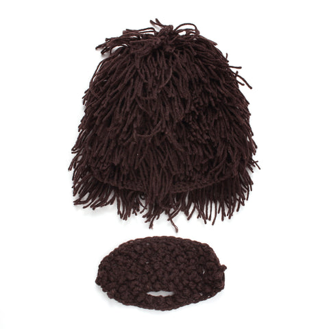 Boy Creativity Wig Bearded Cap