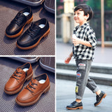 Boy British Style Shoes