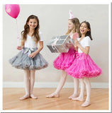 Children Mesh Bubble Skirt