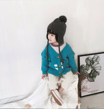 Children Velvet Warm Knit Hat