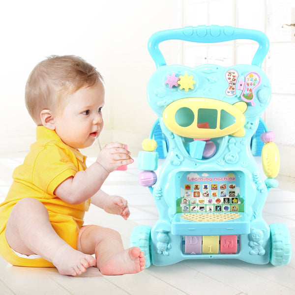 Multi-functional Musical Push Activity Walker for Baby