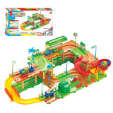 Electric Thomas Assembled Light Music Hot Wheels Track Train