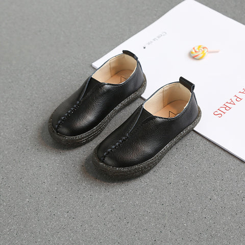 Boy Retro Leather Shoes