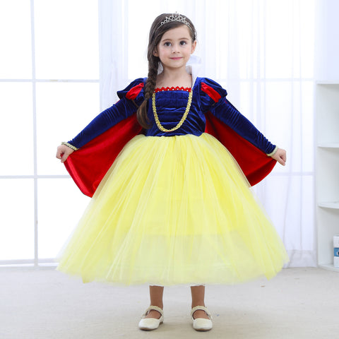 Girl Snow White skirt