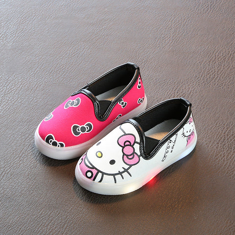 Girls Breathable Canvas Shoes