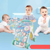 Children's Multi-function Musical Trolley Walker
