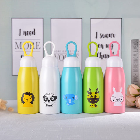 Children Cartoon Stainless Steel Cup