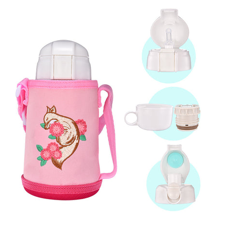 Children Portable Stainless Steel Water Cup