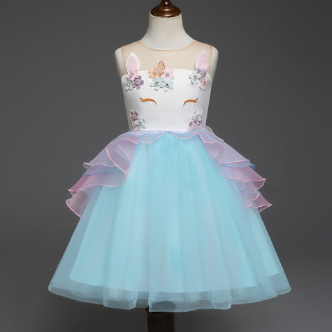 Girl Performance Princess Dress