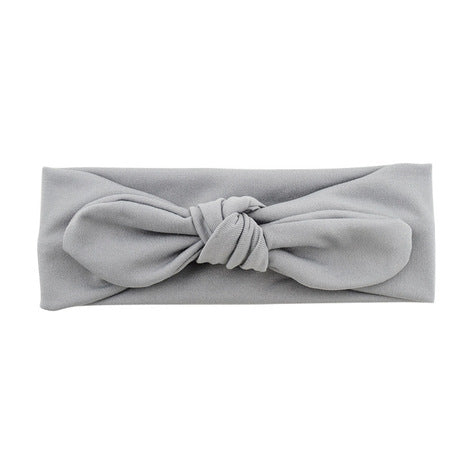 Baby Girl Cute Rabbit Elastic Cotton Headband Hair Accessories