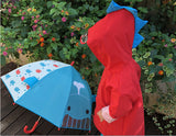 Boy Cartoon Dinosaur Raincoat