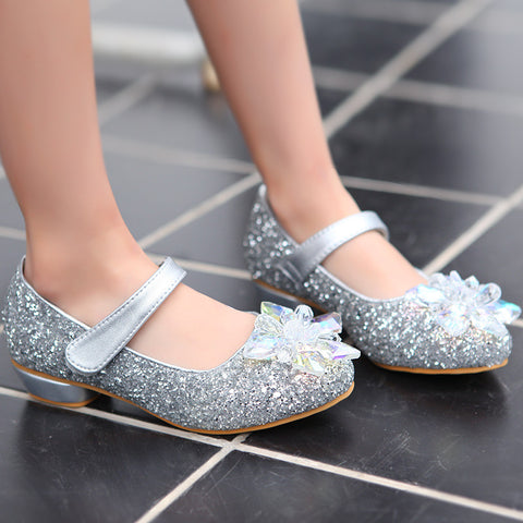 Girl Rhinestone Dance Shoes