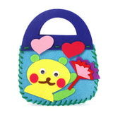 Cute Cartoon Character non-woven fabric Handbag For Girls
