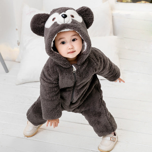 Girl Duffy Bear Jumpsuit